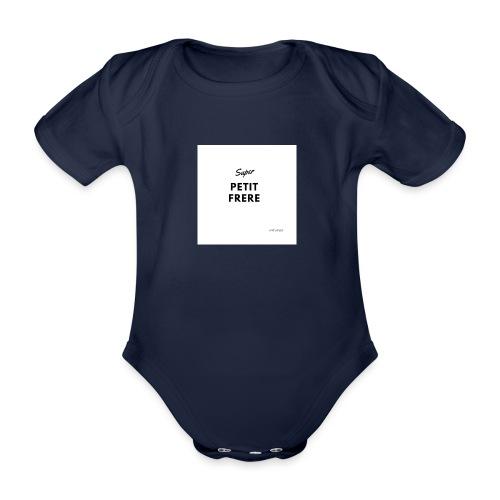 super PETIT frere - Body Bébé bio manches courtes