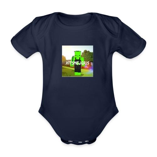 xItsMeJqris - Baby bio-rompertje met korte mouwen