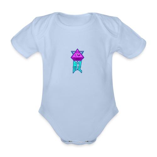 AZ ILLUMINATI - Organic Short-sleeved Baby Bodysuit