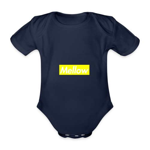 mellow Yellow - Organic Short-sleeved Baby Bodysuit