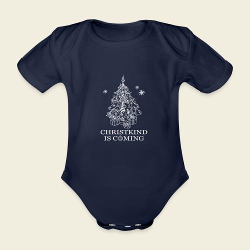 Christkind neu weiss - Baby Bio-Kurzarm-Body