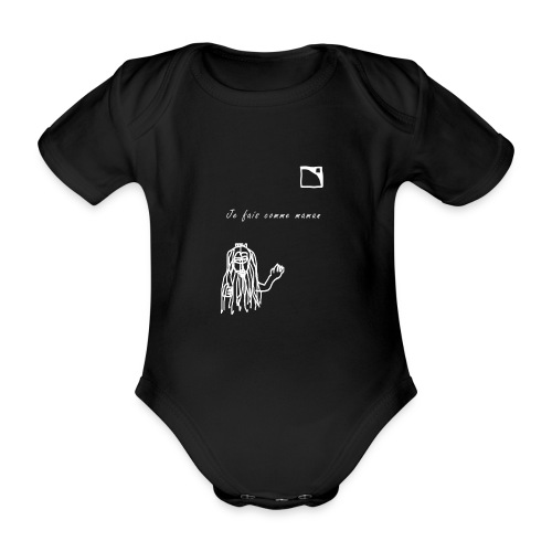 Comme maman L'Acoustics - Body Bébé bio manches courtes