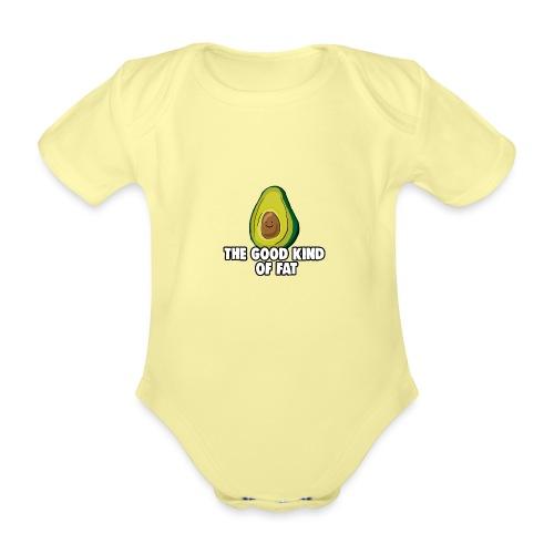Avocado: The Good Kind of Fat - Organic Short-sleeved Baby Bodysuit