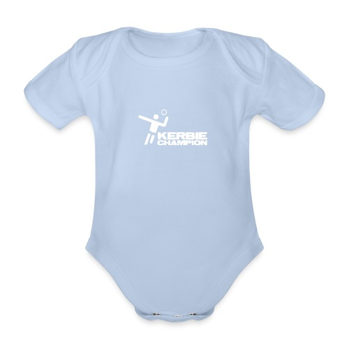 Kerbie - Organic Short-sleeved Baby Bodysuit