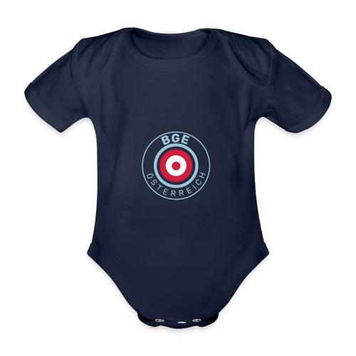 BGE in Österreich mit Fahne - Baby Bio-Kurzarm-Body