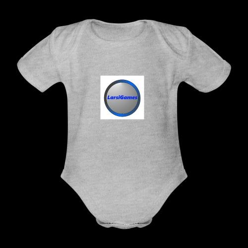 LarsiGames - Baby bio-rompertje met korte mouwen