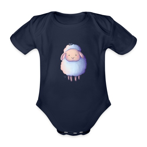 Kleines Schäfchen - Baby Bio-Kurzarm-Body