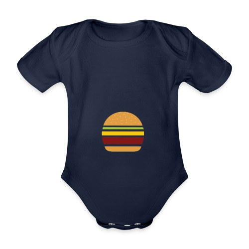 Logo Burger Panhamburger - Body Bébé bio manches courtes