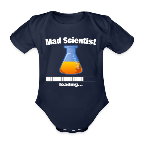 Mad Scientist loading... Baby Motiv - Baby Bio-Kurzarm-Body