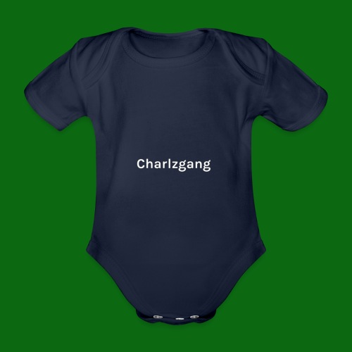 Charlzgang - Organic Short-sleeved Baby Bodysuit