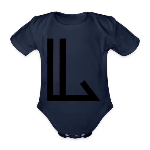 L - Organic Short-sleeved Baby Bodysuit