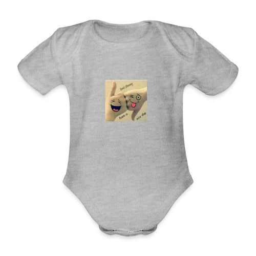Friends 3 - Organic Short-sleeved Baby Bodysuit