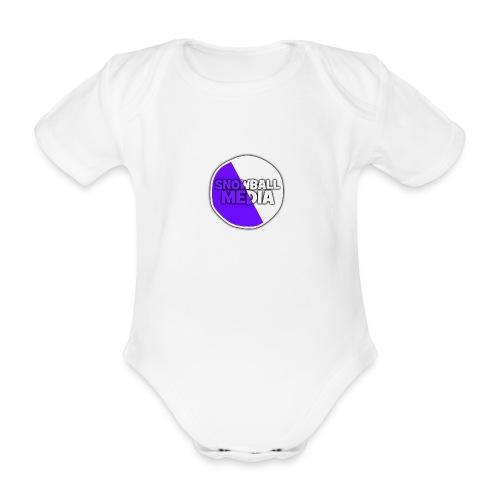 Snowball Media - Organic Short-sleeved Baby Bodysuit