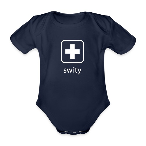 Schweizerkreuz-Kappe (swity) - Baby Bio-Kurzarm-Body