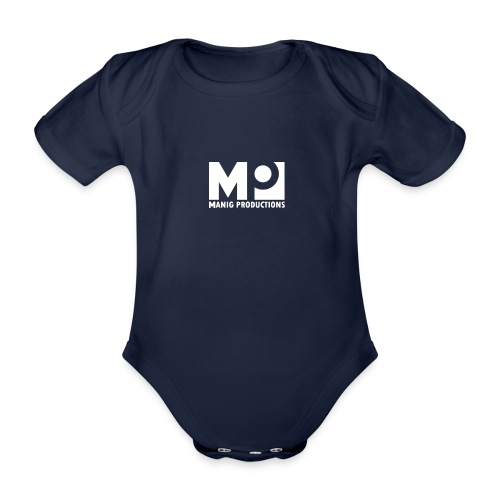 ManigProductions White Transparent png - Organic Short-sleeved Baby Bodysuit
