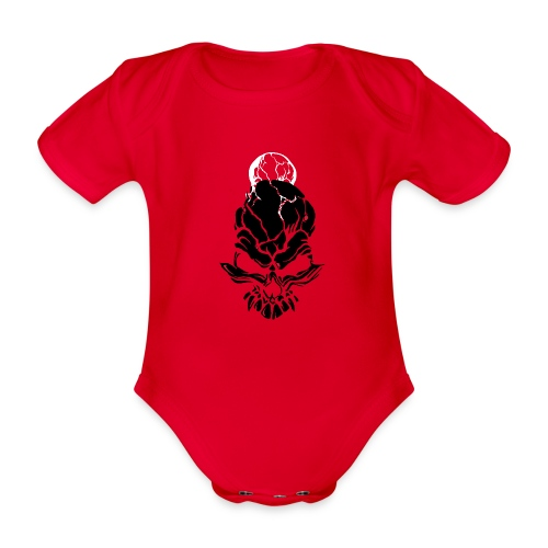 F noize fronte png - Organic Short-sleeved Baby Bodysuit