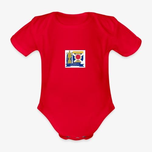 MFCSC Champions Artwork - Organic Short-sleeved Baby Bodysuit