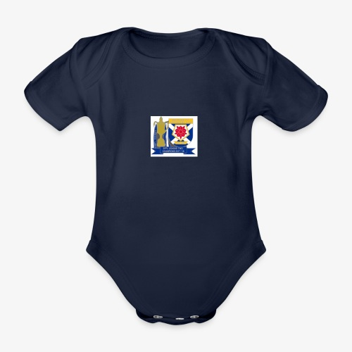 MFCSC Champions Artwork - Organic Short-sleeved Baby Bodysuit