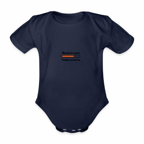 Humour bebe - Body bébé bio manches courtes