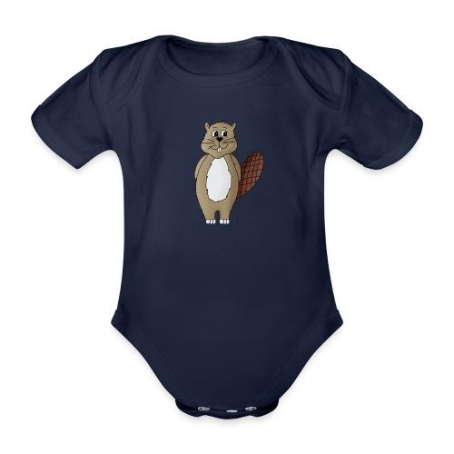 Biber Otti - Baby Bio-Kurzarm-Body