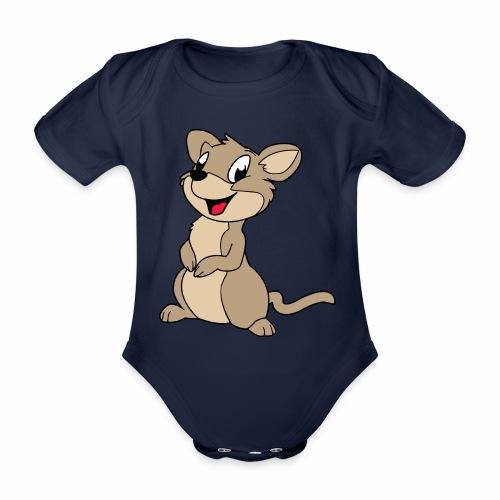 Rennmaus - Baby Bio-Kurzarm-Body