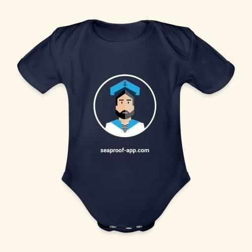SeaProof App - Baby Bio-Kurzarm-Body