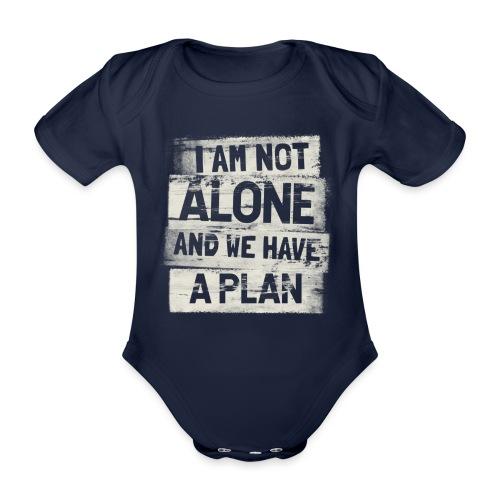 A plan - Ekologisk kortärmad babybody