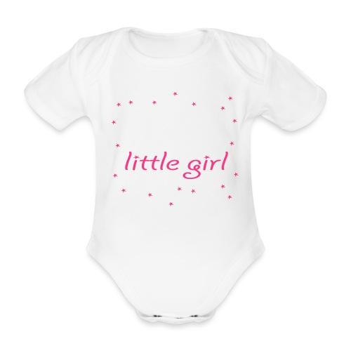 Baba's little girl Babylätzchen - Baby Bio-Kurzarm-Body