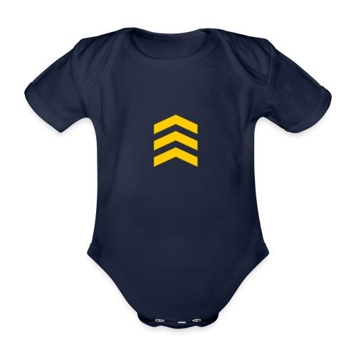 Kersantti - Vauvan lyhythihainen luomu-body