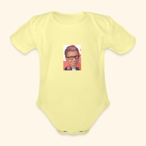 MM twitch shop - Kortærmet babybody, økologisk bomuld