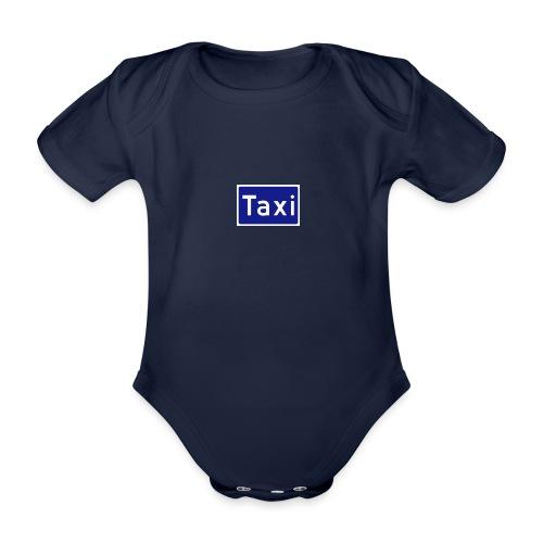 Taxi - Økologisk kortermet baby-body