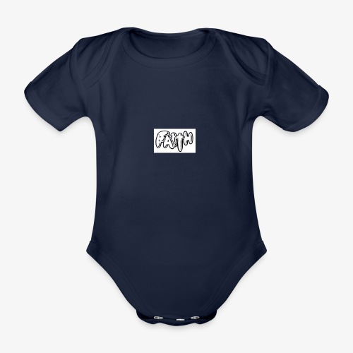 faith - Organic Short-sleeved Baby Bodysuit