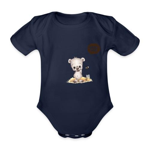 Noah der kleine Bär - Baby Bio-Kurzarm-Body