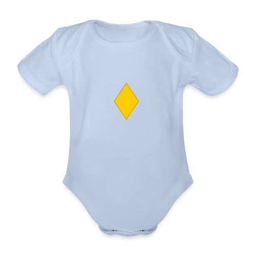 Upseerioppilas - Vauvan lyhythihainen luomu-body