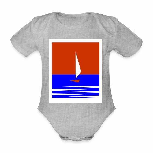 Segeln - Baby Bio-Kurzarm-Body