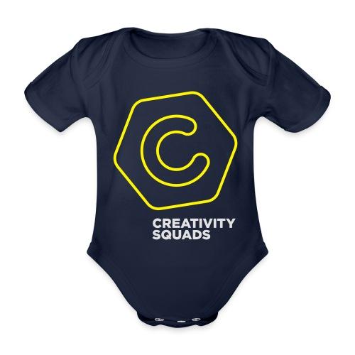CreativitySquads 002 - Vauvan lyhythihainen luomu-body
