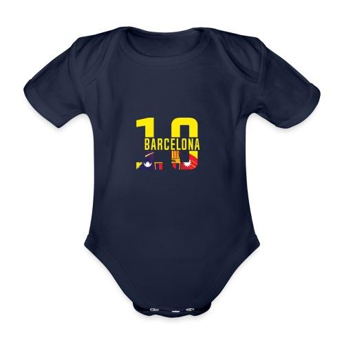 Barcelona Design. Modern und trendig - Baby Bio-Kurzarm-Body
