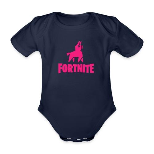 Fortnite Llama - Organic Short-sleeved Baby Bodysuit