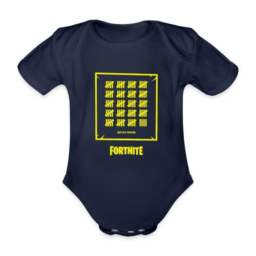 Fortnite Battle Tested - Organic Short-sleeved Baby Bodysuit