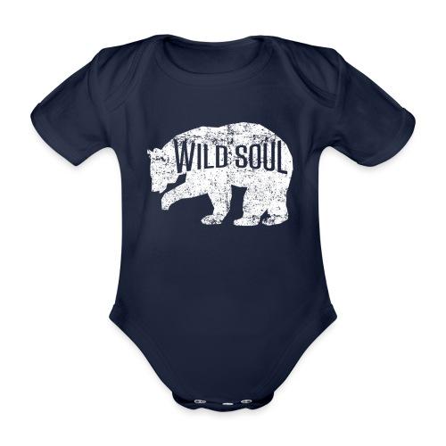 Wilde Seele - Baby Bio-Kurzarm-Body
