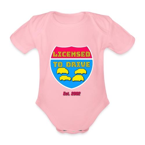 licensed to drive t-shirt 2002 - Body Bébé bio manches courtes