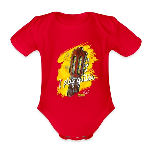 I play guitar - limited edition '19 - Baby Bio-Kurzarm-Body