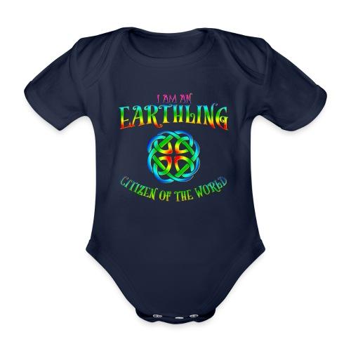 EARTHLING T-shirt - Ekologisk kortärmad babybody
