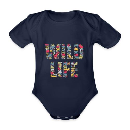 Wild Life - Baby Bio-Kurzarm-Body