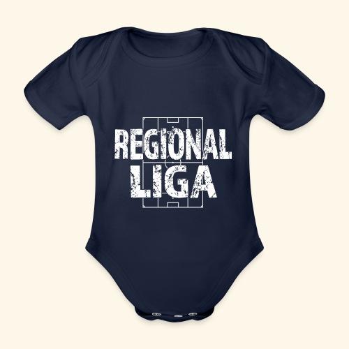 REGIONALLIGA im Fußballfeld - Baby Bio-Kurzarm-Body