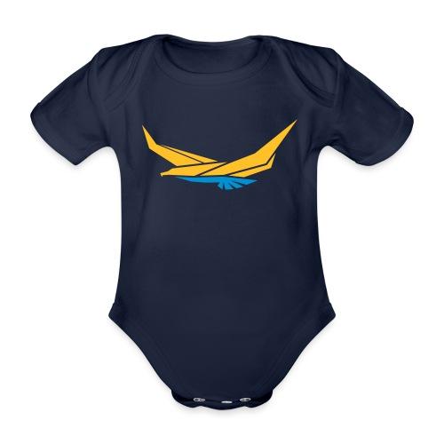 Adler - Baby Bio-Kurzarm-Body
