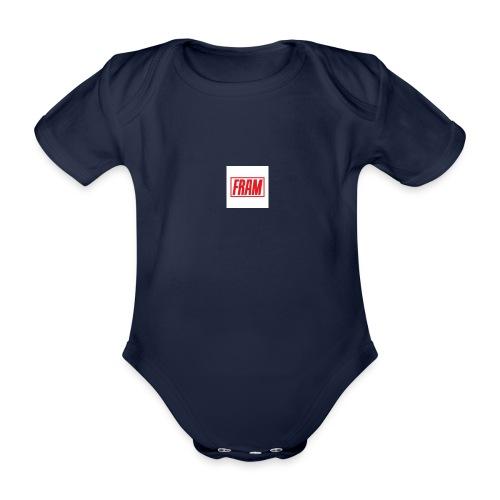 LogoSample ByTailorBrands - Baby bio-rompertje met korte mouwen