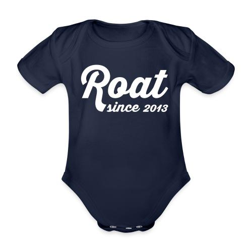 Roat since2013 - Kortærmet babybody, økologisk bomuld