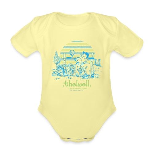 Thelwell Cartoon Pony Sieg - Baby Bio-Kurzarm-Body