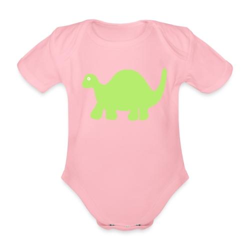 dino 1 - Baby Bio-Kurzarm-Body